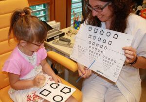 Sehtest mit LH bei Kindern